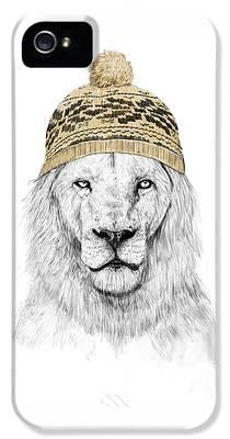 Lion iPhone 5 Cases