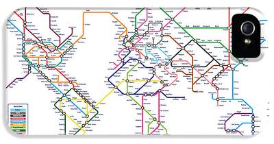London Tube iPhone 5 Cases
