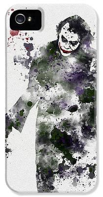 Heath Ledger iPhone 5 Cases