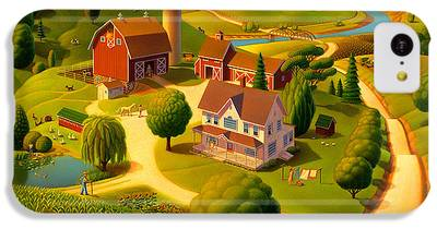 Rural Scene IPhone 5c Cases