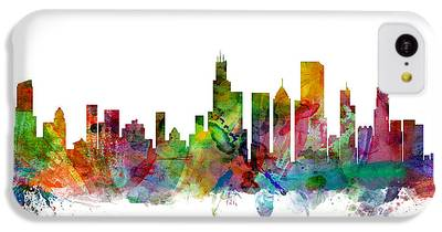 Chicago Skyline iPhone 5C Cases