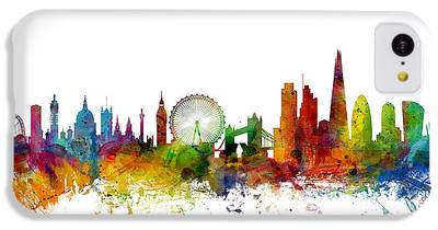 London Skyline iPhone 5C Cases