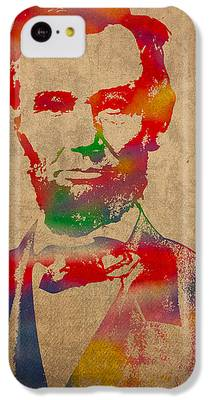 Abraham Lincoln iPhone 5C Cases