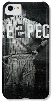 Derek Jeter iPhone 5C Cases