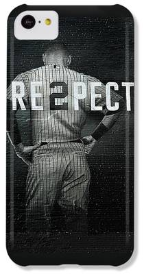 Baseball Player IPhone 5c Cases