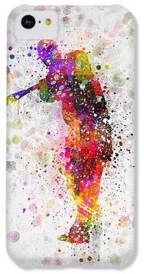 Softball IPhone 5c Cases
