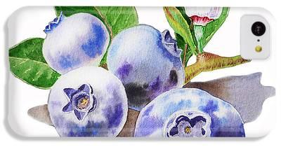 Blueberry iPhone 5C Cases