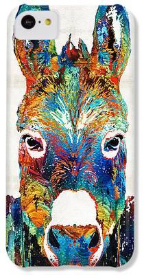 Donkey iPhone 5C Cases