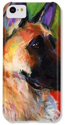 German Shepherd IPhone 5c Cases
