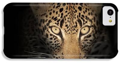 Leopard IPhone 5c Cases
