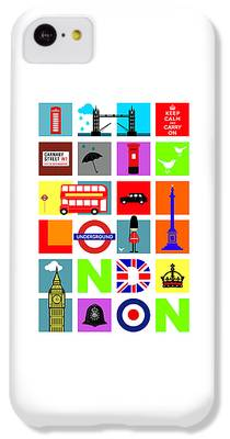 London Tube iPhone 5C Cases