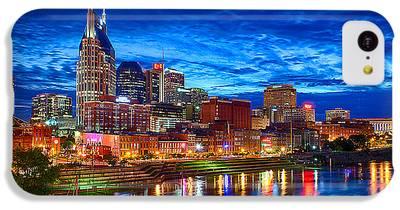 Nashville Skyline iPhone 5C Cases