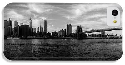 New York Skyline Photographs iPhone 5C Cases