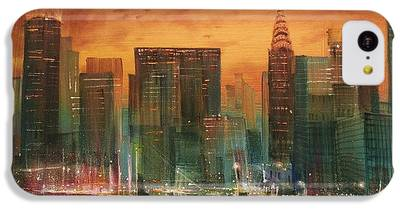 City Scene IPhone 5c Cases