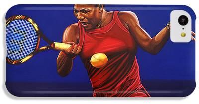 Serena Williams iPhone 5C Cases
