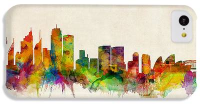 Sydney Skyline iPhone 5C Cases