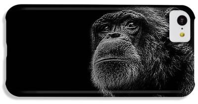 Chimpanzee iPhone 5C Cases