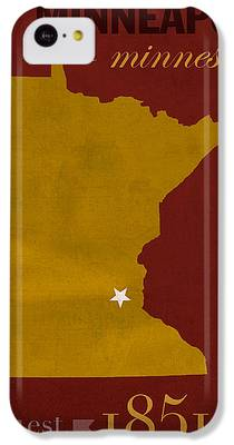 University Of Minnesota iPhone 5C Cases