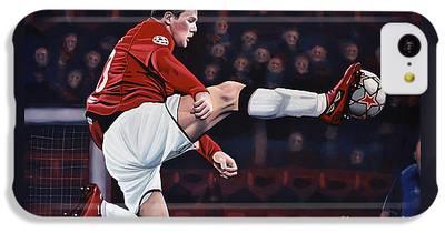 Wayne Rooney iPhone 5C Cases