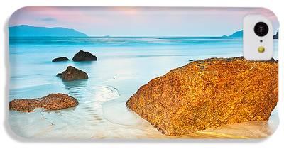Beach Sunset iPhone 5C Cases