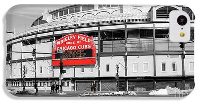 Wrigley Field iPhone 5C Cases