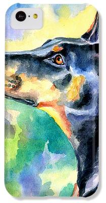 Doberman Pinscher IPhone 5c Cases