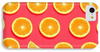 Orange iPhone 5C Cases