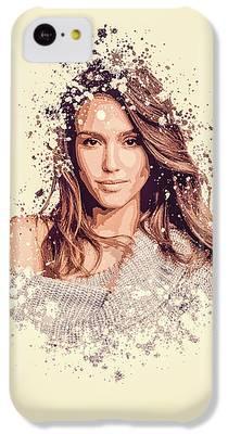 Jessica Alba IPhone 5c Cases