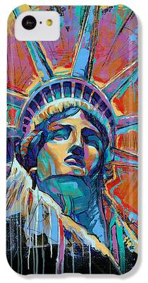 Statue Of Liberty iPhone 5C Cases
