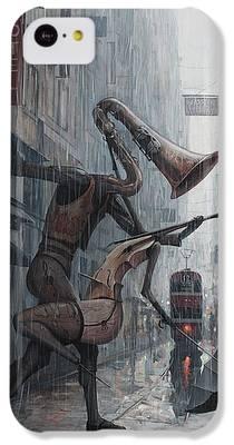 Saxophone iPhone 5C Cases