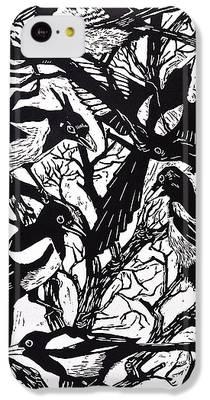 Magpies iPhone 5C Cases