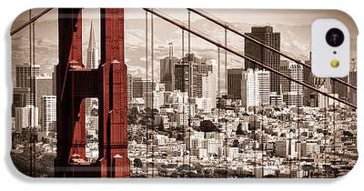 Golden Gate Bridge IPhone 5c Cases