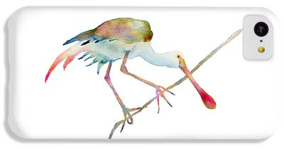 Spoonbill iPhone 5C Cases