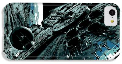 Space Ships iPhone 5C Cases