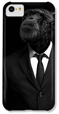 Chimpanzee iPhone 5C Cases