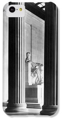 Lincoln Memorial iPhone 5C Cases