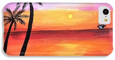 Sun Paintings iPhone 5C Cases