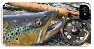 Salmon iPhone 5s Cases