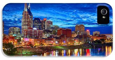 Nashville Skyline iPhone 5s Cases