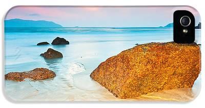 Beach Sunset iPhone 5s Cases