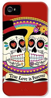 Folk Art Digital Art iPhone 5s Cases