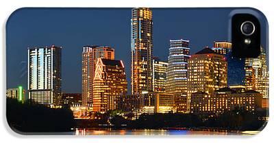 Austin Skyline iPhone 5s Cases