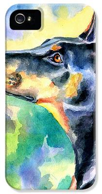 Doberman Pinscher IPhone 5s Cases