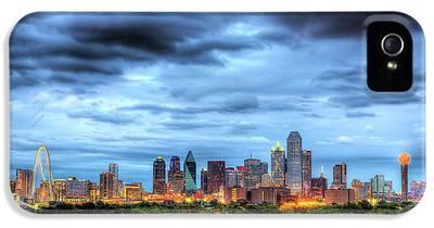 Dallas Skyline iPhone 5s Cases