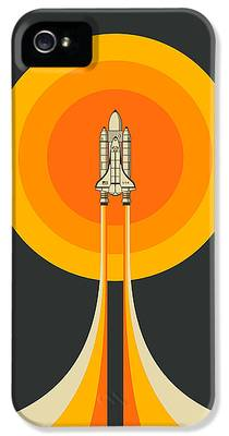 Space Ship IPhone 5s Cases