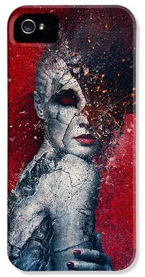 Manipulation Digital Art iPhone 5s Cases