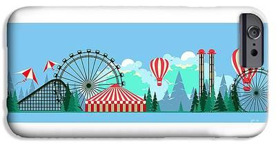 Carousel Digital Art iPhone 6 Cases