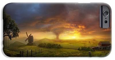 Landscape Paintings iPhone 6 Cases