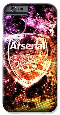Arsenal Fc Iphone 6 Cases Fine Art America