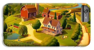 Rural Scene IPhone 6 Plus Cases